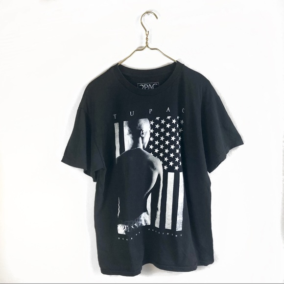 Other - 4 FOR 20! Tupac 'President' Graphic T-shirt.